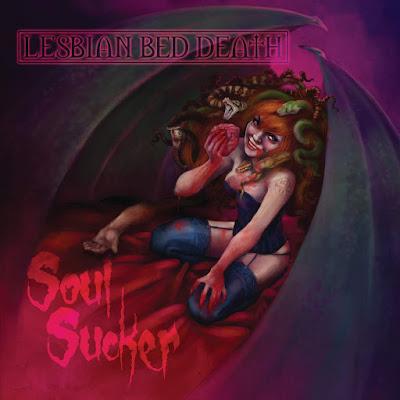 Lesbian Bed Death - Soul Sucker (Single) Artwork by Iris Compiet