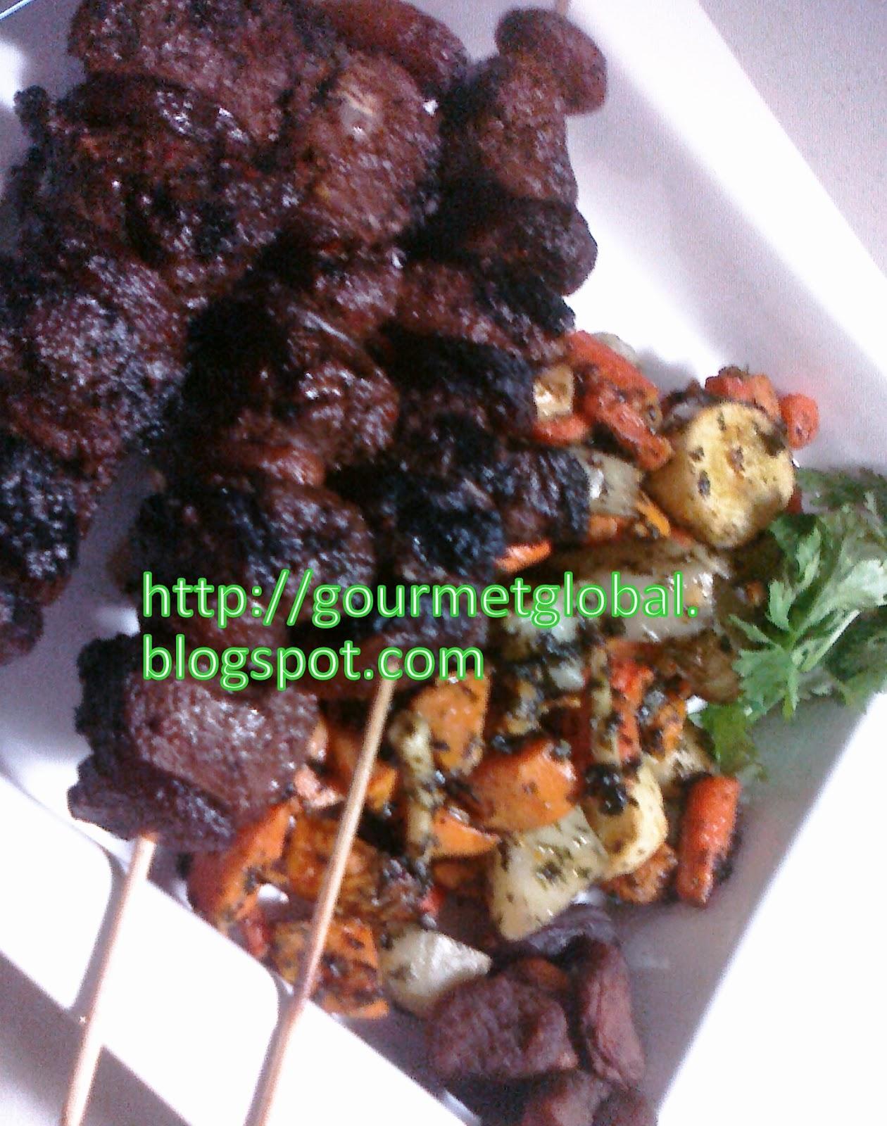 Roasted Vegetables :