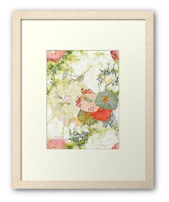 Framed Fine Art Print Deep Sea Bloom by Mimi Pinto