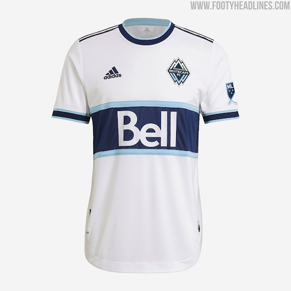 Vancouver Whitecaps 2021 Home Kit Released - Footy Headlines
