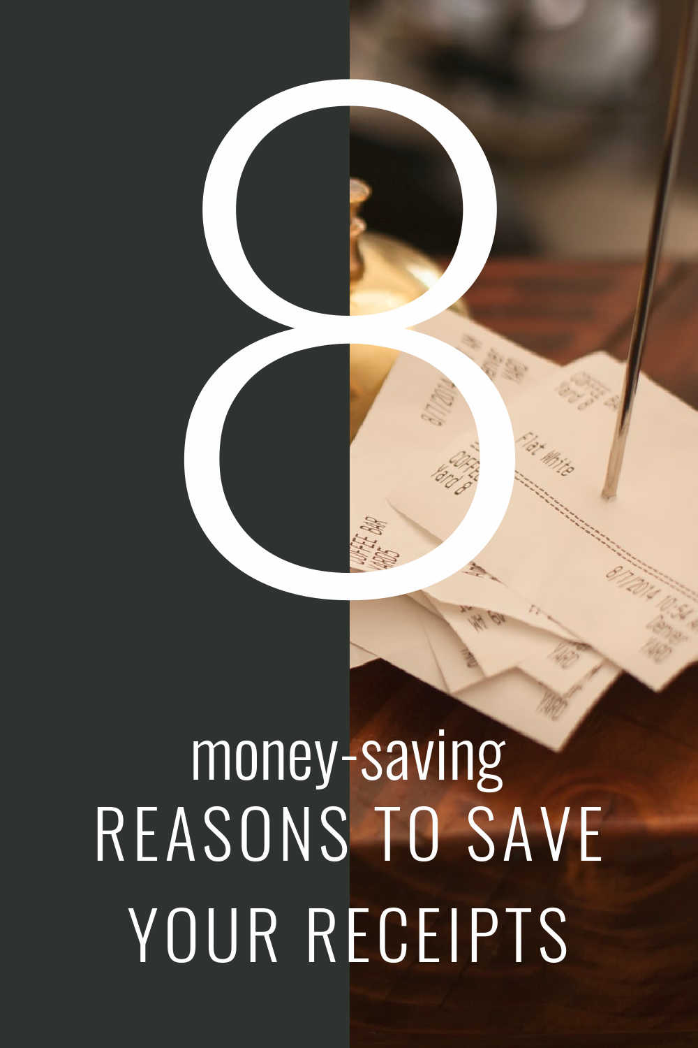why save your receipts