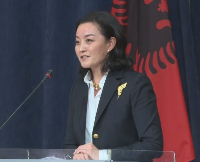 Ambassador Yuri Kim says the US pledged $ 100 million for Albania and other COVID-19 affected countries