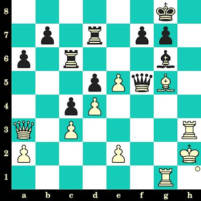 Les Blancs jouent et matent en 2 coups - George Rotlevi vs Hugo Suchting, Carlsbad, 1911