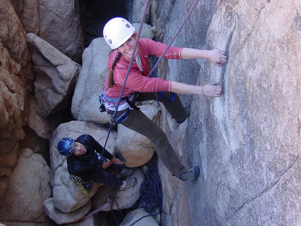 American Alpine Institute - Climbing Definitions Beginners Top-rope . Lead