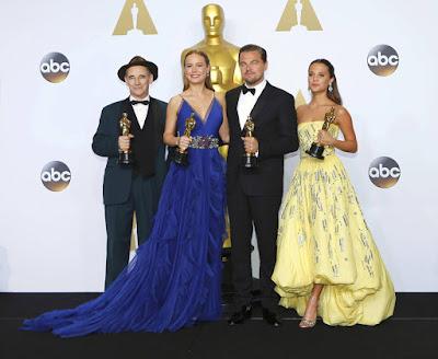 в чём они пришли на кинопремию Оскар