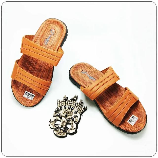 Grosir Sandal Terlaris | Sandal Imitasi Kulit Insole CPC TG