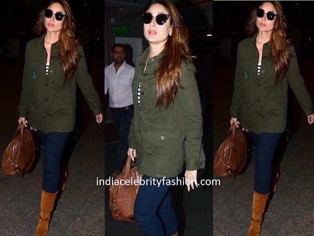 Kareena Kapoor's Casual Airport Style