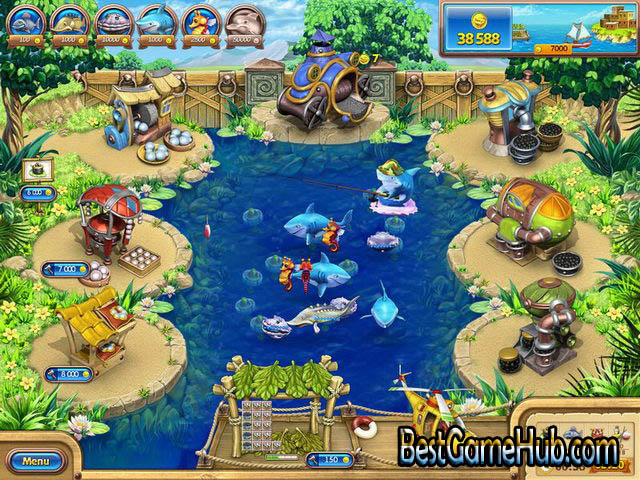 Farm Frenzy Gone Fishing PC Repack Game Free Download