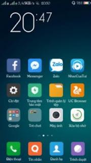 Tema MIUI 8 (Xiaomi) untuk Realme dan Oppo