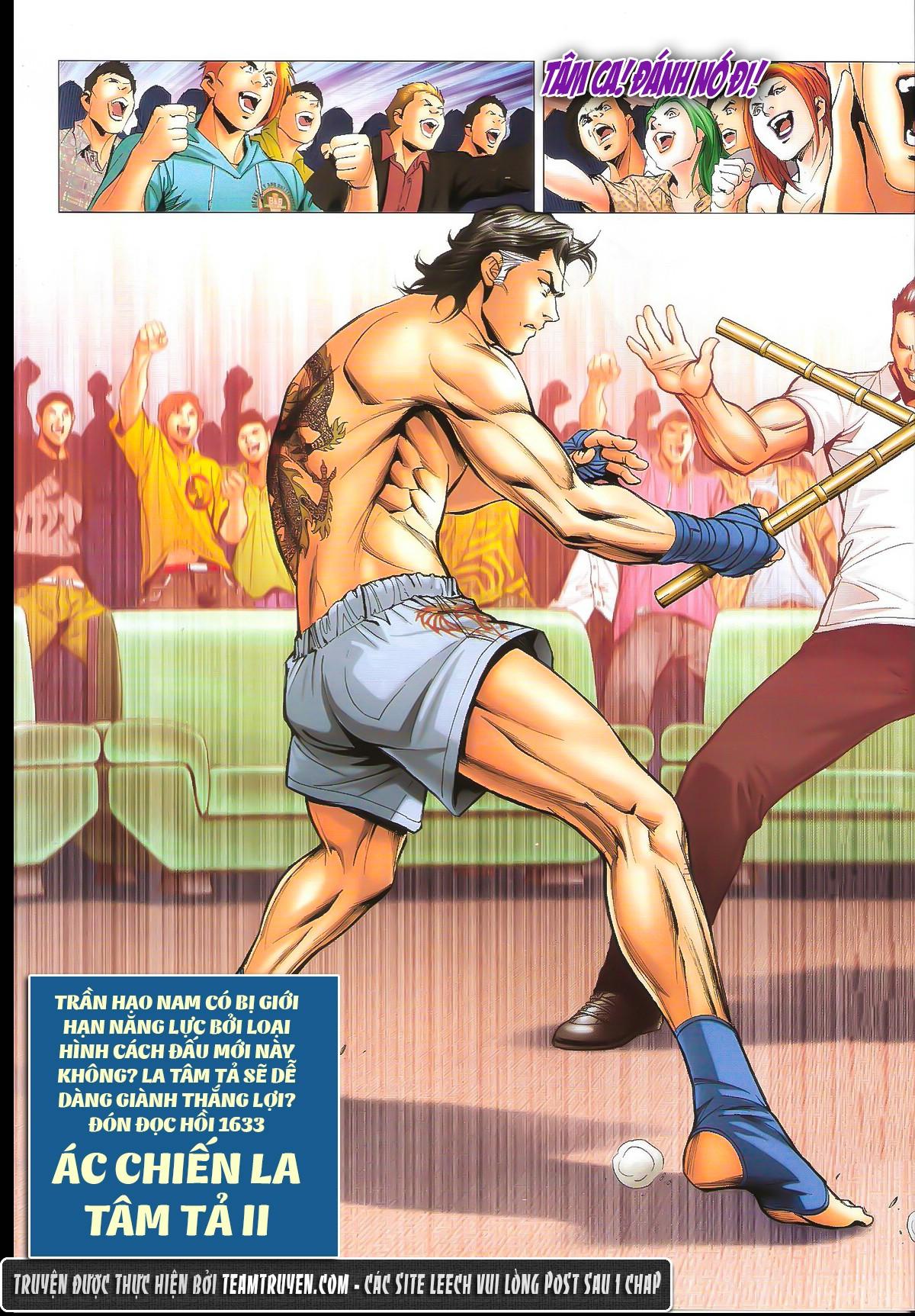 Người Trong Giang Hồ chapter 1632: ác chiến la tâm tả trang 28