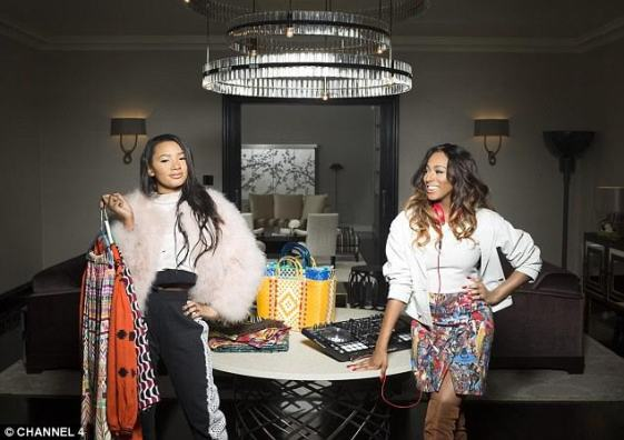 Billionaire daughters, DJ Cuppy and Temi Otedola featured on UK Daily Mail (see photos)
