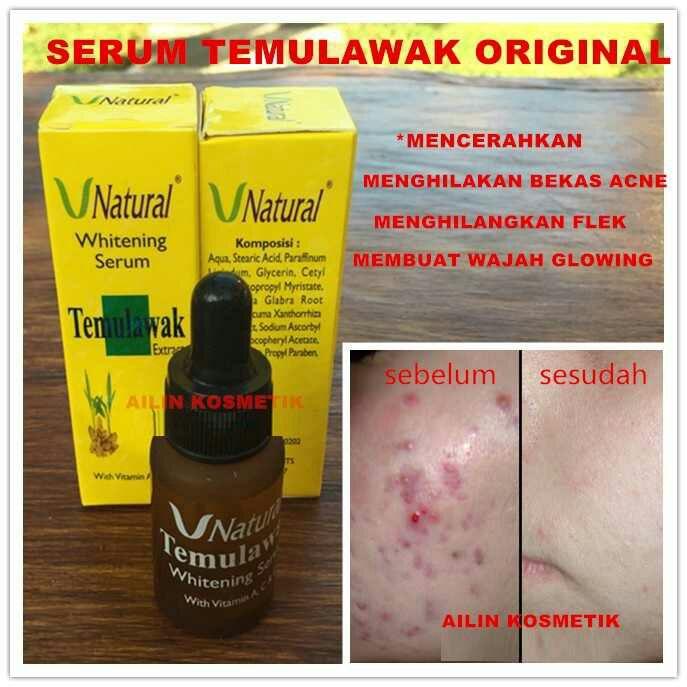 Serum Temulawak - Nida Shopy Holic