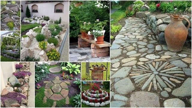 Διαμορφώσεις - Κατασκευές Κήπου με Φυσικές Πέτρες