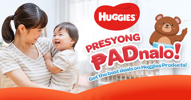 Shopee Rainy Diaper Deals on Huggies Brand Day on 31 July!