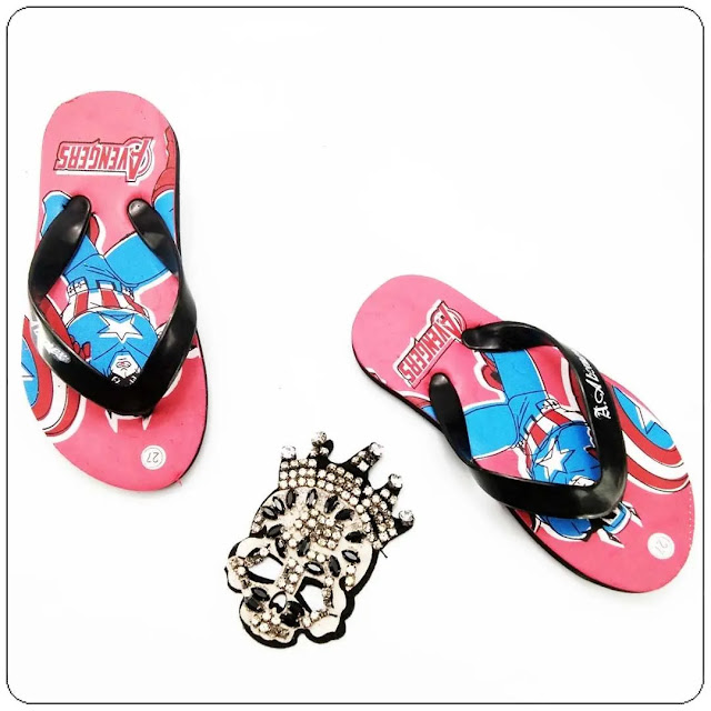 Pabrik Sandal Karakter Anak Cowok Termurah - Sandal AMX Karakter Simplek Anak