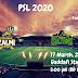 Peshawar Zalmi vs Multan Sultan | PSL 2020 | 17th march, 2020 | Gaddafi Stadium, Lahore