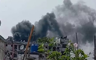 बिहार: PMCH में लगी भीषण आग, फायर ब्रिगेड की कई गाड़ियां मौके पर, अफरा-तफरी का माहौल