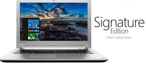 Cara Membuat PC Anda Sebuah PC Microsoft Signature Tanpa Membayar $ 99