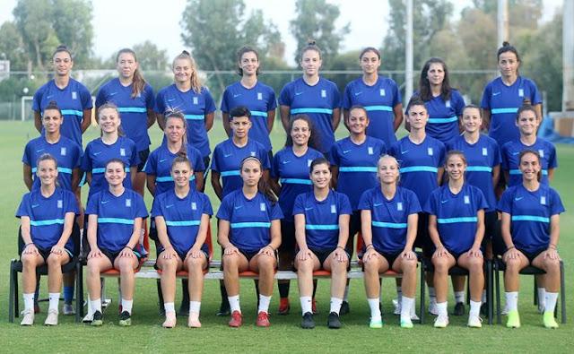 Κλήση της Ειρήνης Νεφρού από το Ναύπλιο στην Εθνική Γυναικών Ποδοσφαίρου