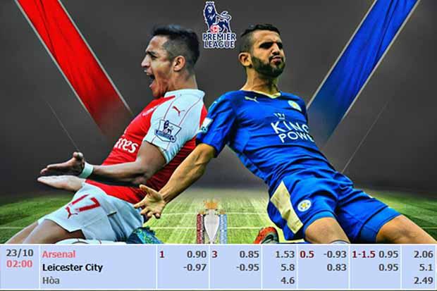 Tỷ lệ Ma cao và dự đoán: Arsenal vs Leicester City