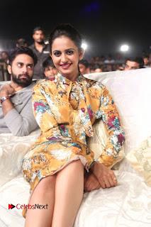 Actress Rakul Preet Singh Stills in Short Dress at Dhruva Pre Release Function  0083.JPG