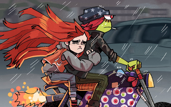 Riding in the Rain by Dewey Neal