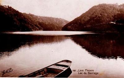 Le lac des Fades, des fées, Auvergne.