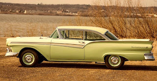 1957 Ford Fairlane 500 Dual Quad Side Left