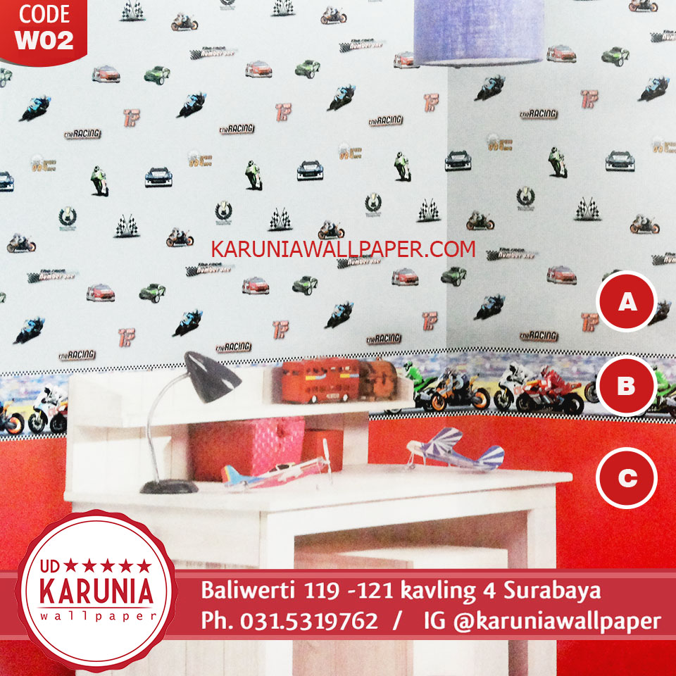jual wallpaper surabaya kids karuniawallpaper