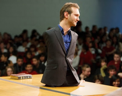 Nick Vujicic motivational speaker