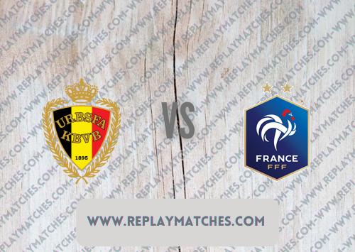 Belgium vs France -Highlights 07 October 2021