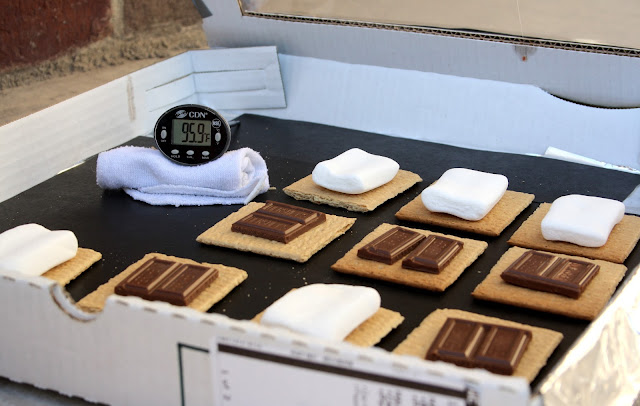 Solar S'mores fun family activity teaching kids science Butter with a side of Bread