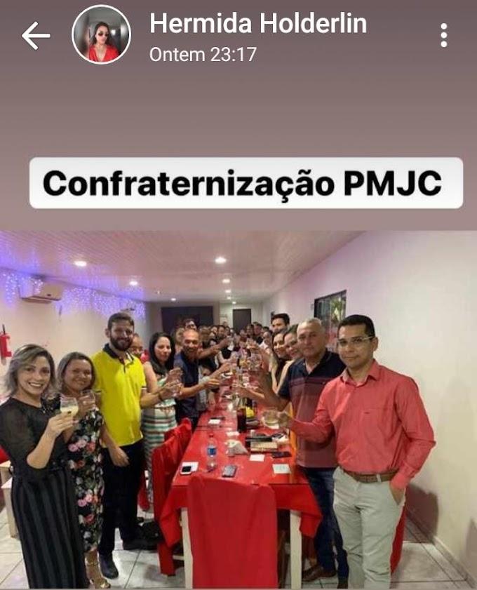 João Câmara: Confraternização entre o Prefeito, Vereadores e Secretários no Restaurante Araújo