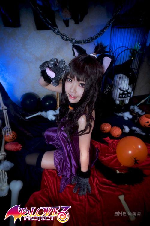 To Love Ru Darkness cosplayers halloween