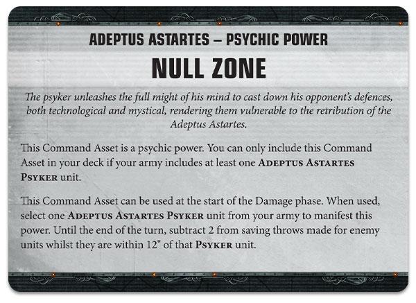 Poderes psíquicos Marines Espciales Apocalypse