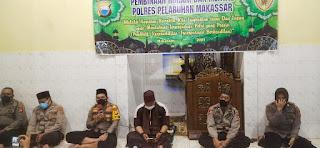 BINROHTAL : Polres Pelabuhan Makassar Bentuk Mental Anggota dengan Tingkatkan Iman dan Ketaqwaan
