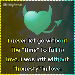 Fake love quote