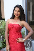 Mamatha sizzles in red Gown at Katrina Karina Madhyalo Kamal Haasan movie Launch event 208.JPG