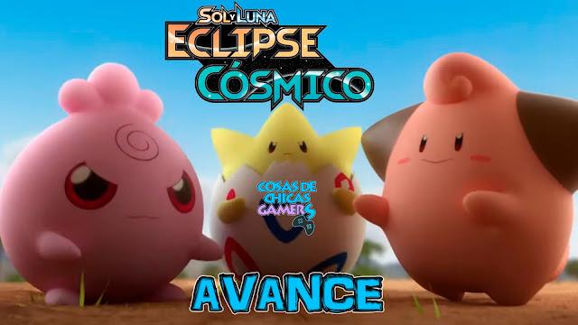Avance expansión Pokémon Eclipse Cósmico Sol y Luna