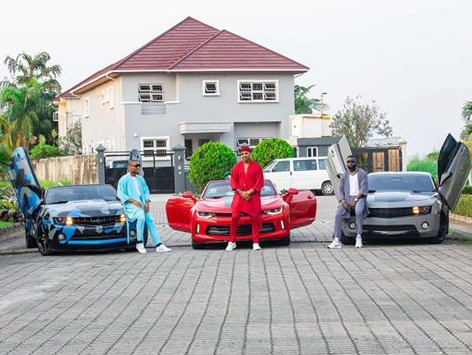 alex-ekubo-biography-alex-ekubo-Yomi-Casual-and-Ik-Ogbonna-shows-off-their-rich-fashion-and-rides