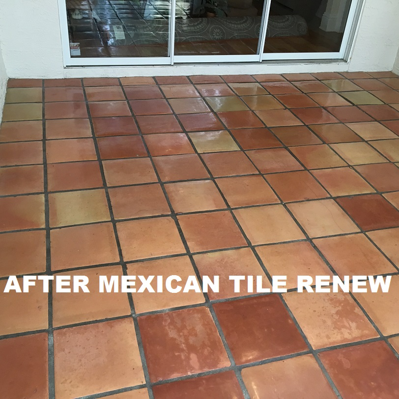 TILE AND GROUT CLEANING: Mexican Tile Renew Sarasota Fl