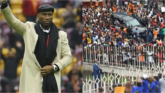 Didier Drogba is vying to become the next Ivory Coast FA president