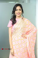 Actress Ritu Varma Pos in Beautiful Pink Anarkali Dress at at Keshava Movie Interview .COM 0002.JPG