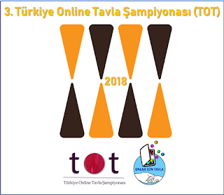 """3.Türkiye Online Tavla Şampiyonası (TOT 2018) """"Onlar İçin Tavla"""""""