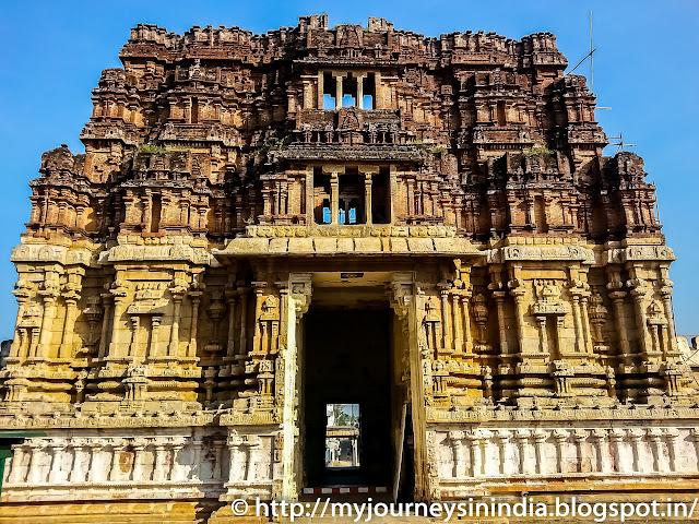 Trichy Thiruvellarai Pundarikakshan Perumal Temple Tower