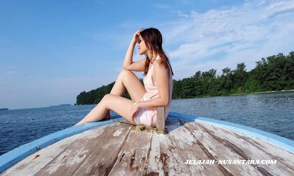 akomodasi wisata open trip pulau harapan