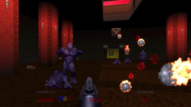 Doom 64 a small re-release of the 1997 shooter under the same name, which you can download torrent.