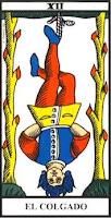 El Colgado- Tarot de Marsella