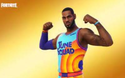 Basketball LeBron James Will Come to Fortnite