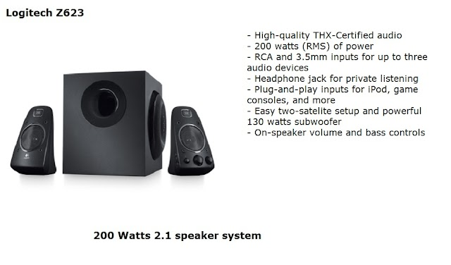 Logitech Z623 speakers test and review